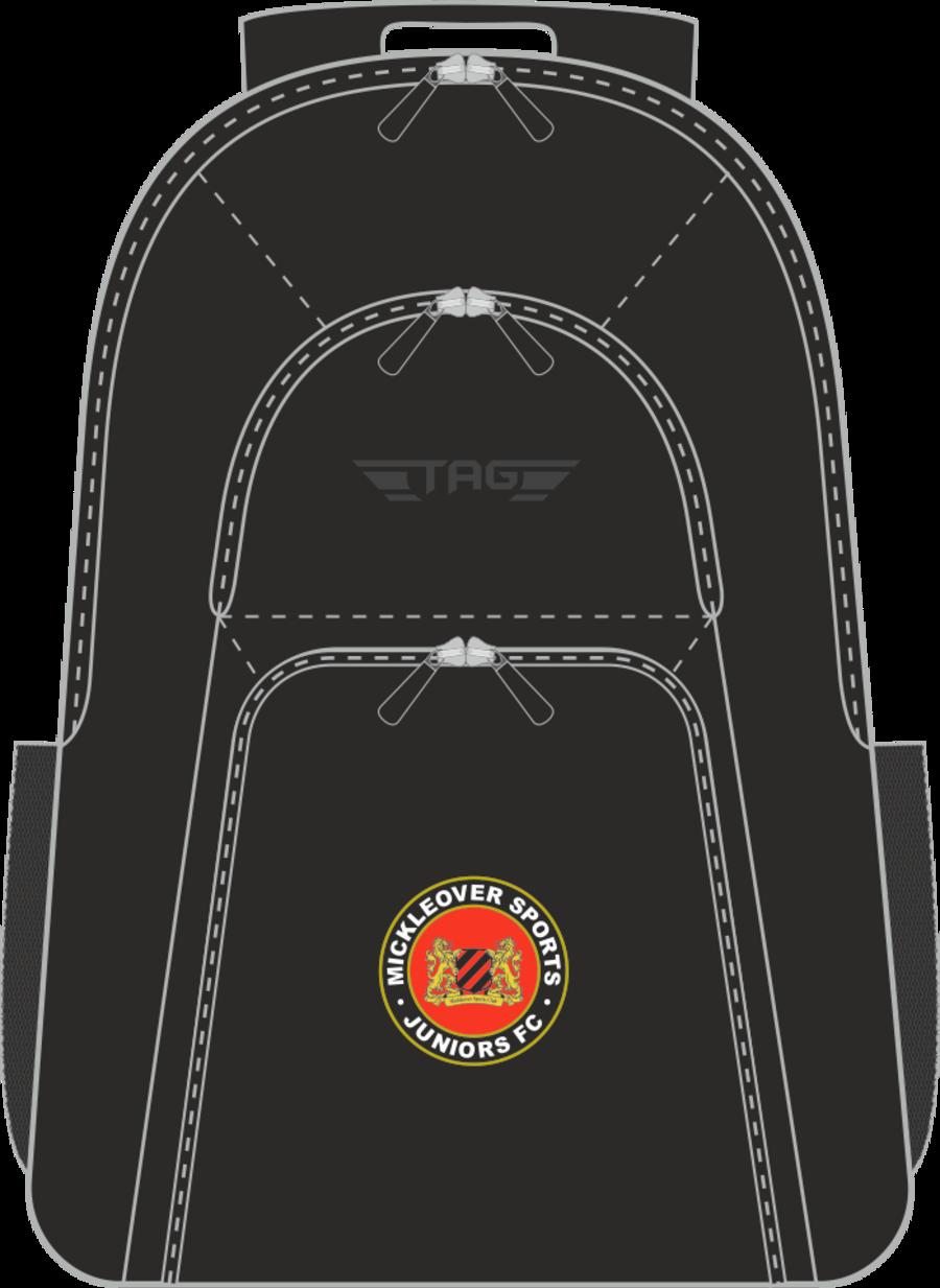 E2K. Mickleover FC Deluxe Backpack (min order of 10)**