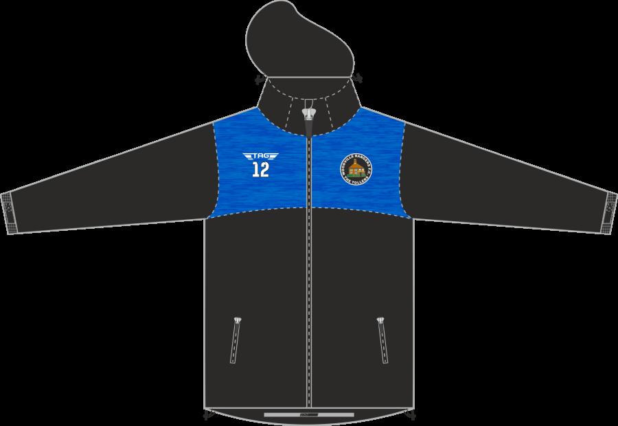 D4F. Woodville Rangers Hybrid Rain Jacket - Adult