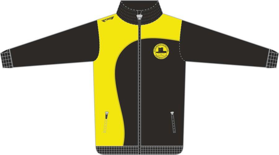 D6C. Marlborough Glasgow Tech Tracksuit Jacket Full Zip - Child