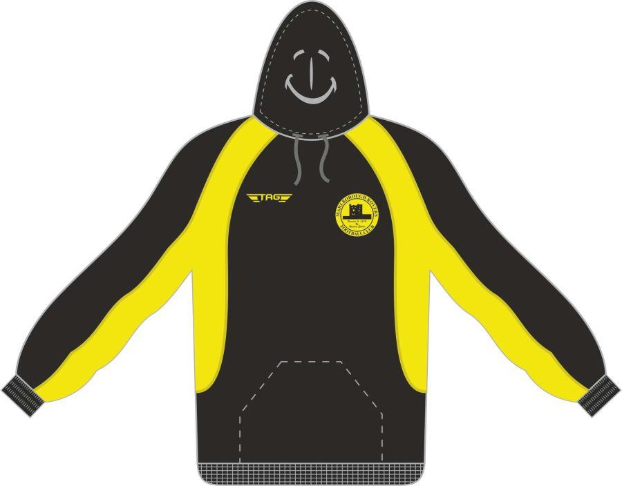 D7F. Marlborough Kiev Sports Hoody Pullover - Adult