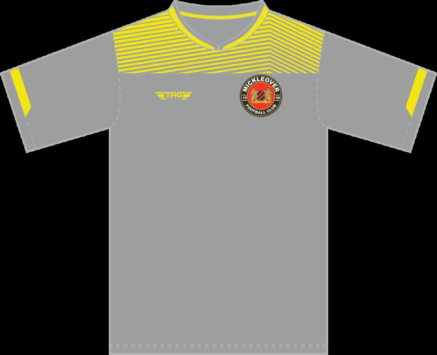 C3C. Mickleover FC Away Match Jersey S/S - Child