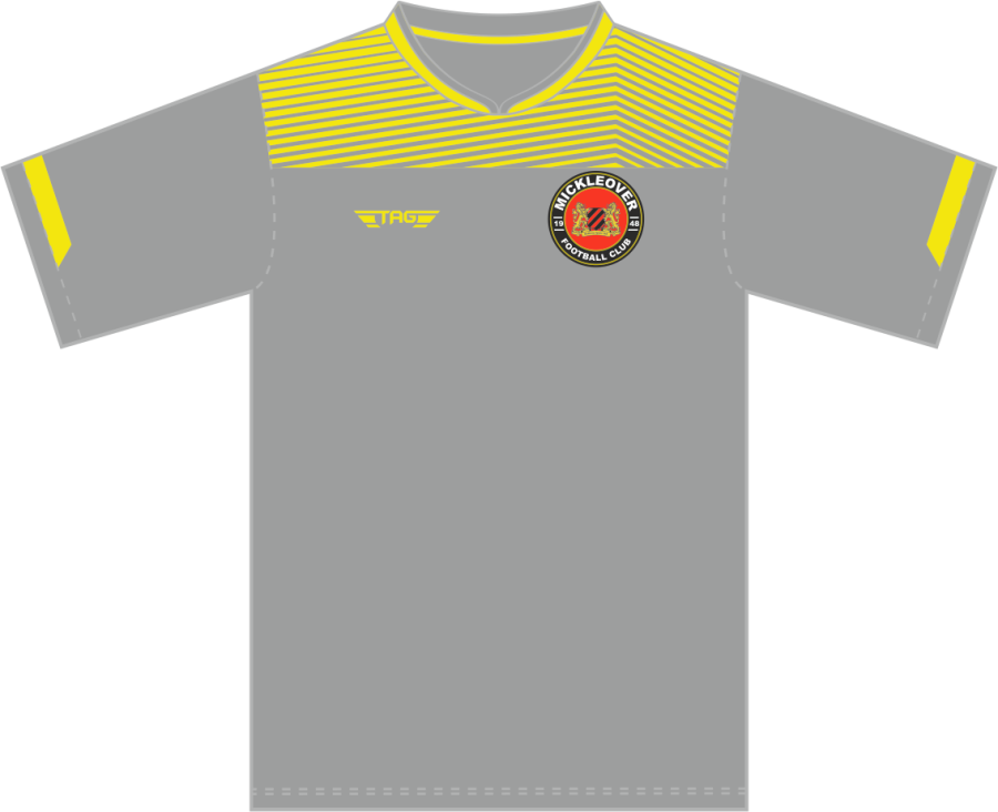 C3D. Mickleover FC Away Match Jersey S/S - Adult