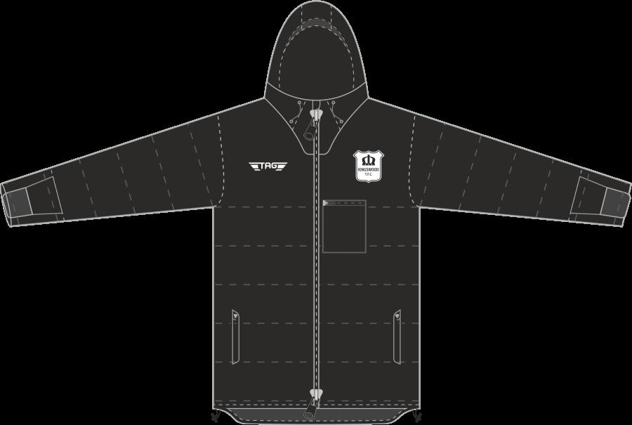 D5J. Kingswood TFC Stadium Jacket - Adult
