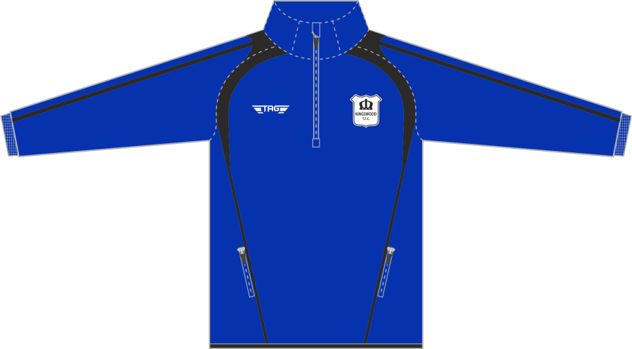 D6G. Kingswood TFC - Players 1/4 Zip Midlayer - Child