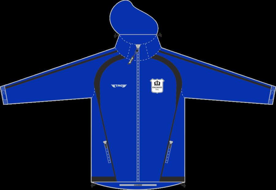 D4D. Kingswood TFC Rain Jacket - Adult