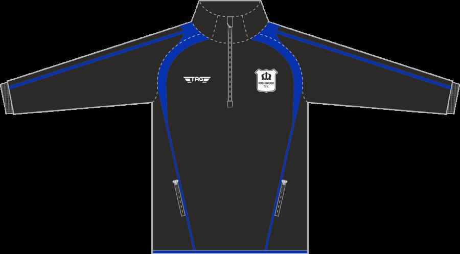 D6H. Kingswood TFC - Coaches 1/4 Zip Midlayer - Adult