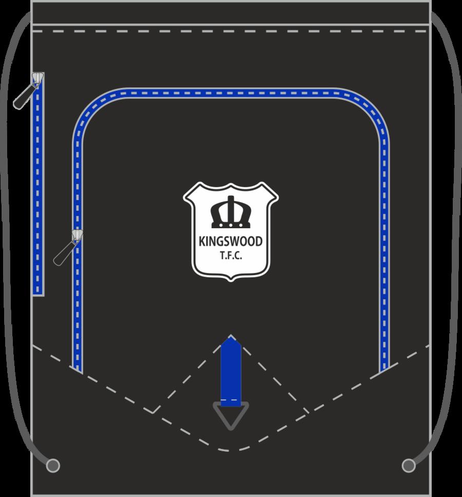 E2A. Kingswood TFC Drawstring Bag (min order of 10)**