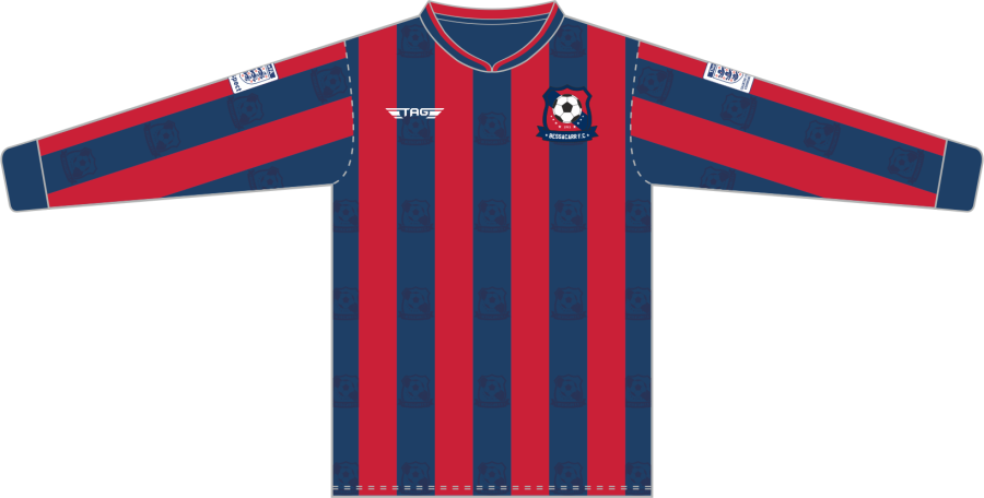 C2E. Bessacarr FC L/S Home Match Jersey - Child