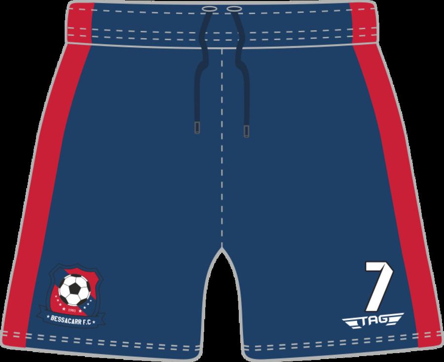 C2H. Bessacarr FC Home Match Short - Adult