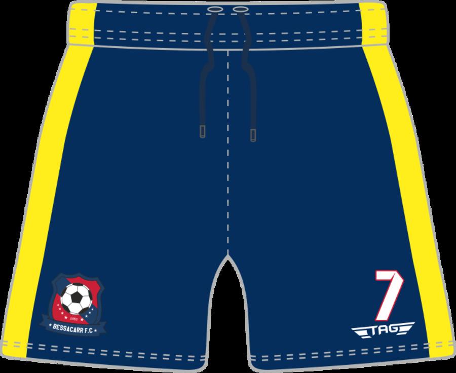 C3H. Bessacarr FC Away Match Short - Adult