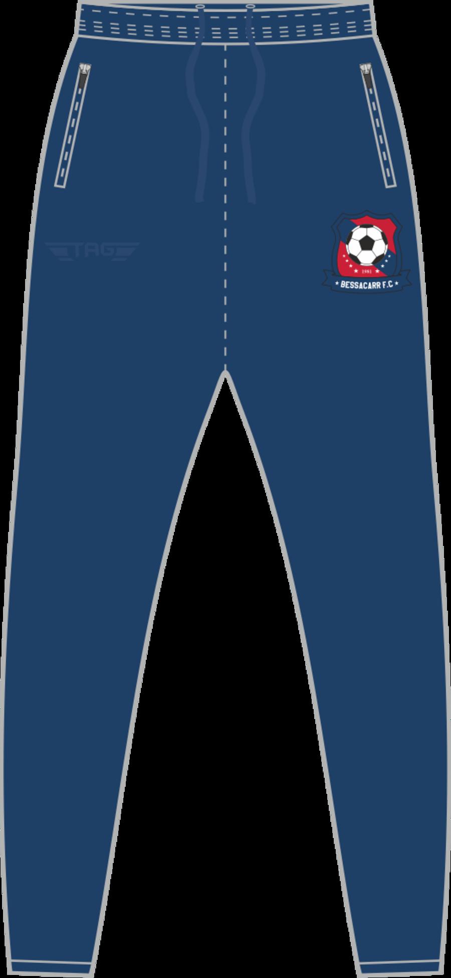 D2D. Bessacarr FC Tight Fit Tech Trouser - Adult