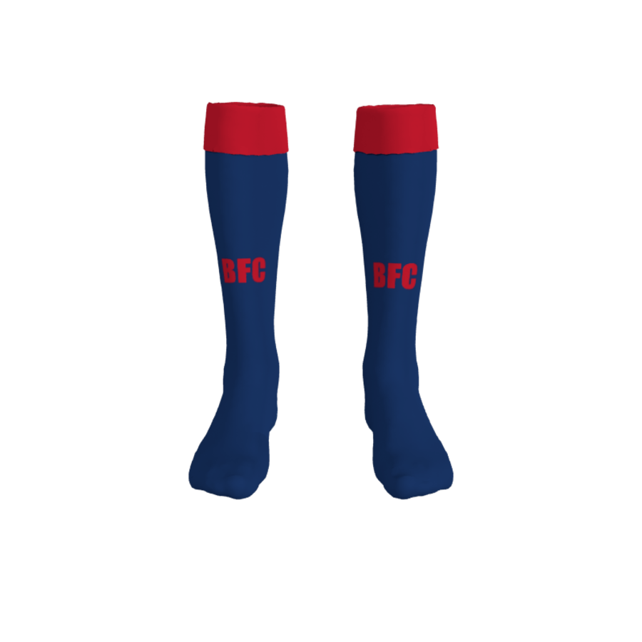 C2J. Bessacarr FC Home Match Sock - Adult