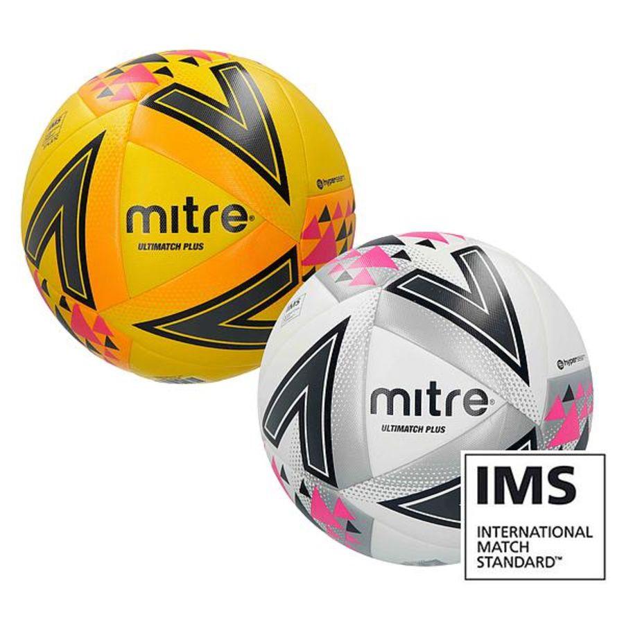 1A. Mitre Ultimatch Plus Match Ball