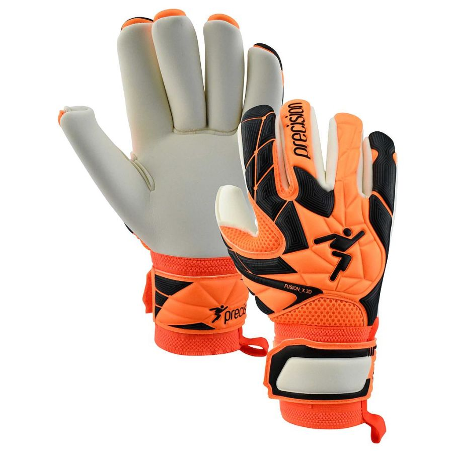 1A. Precision Fusion X3D PRO Negative Roll GK Gloves - Adult