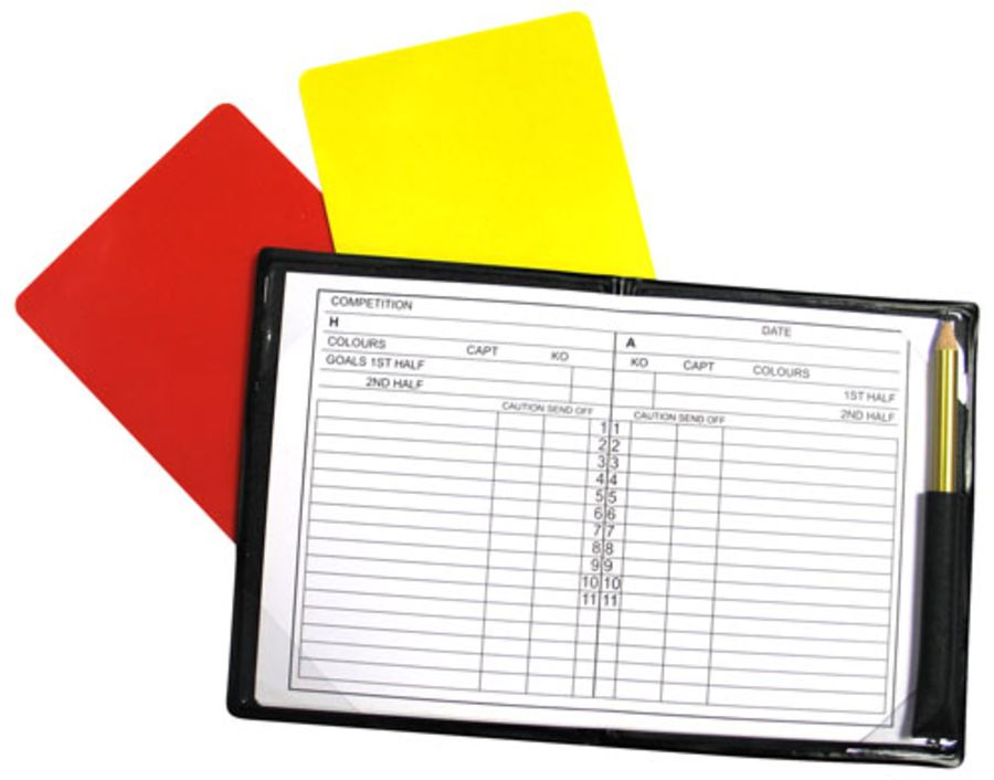 1C. Referees Note Book