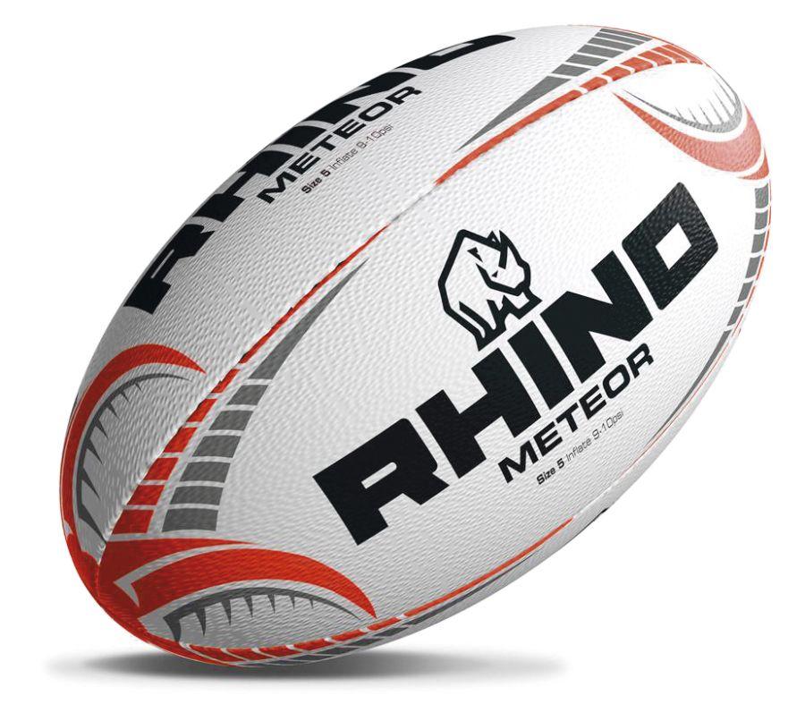 3A. Rhino Meteor Match Rugby Ball