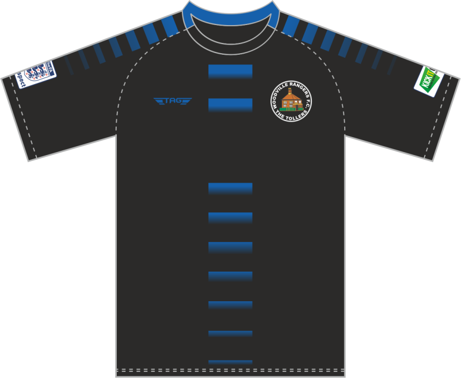 D3C. Woodville Rangers Training Jersey - Child
