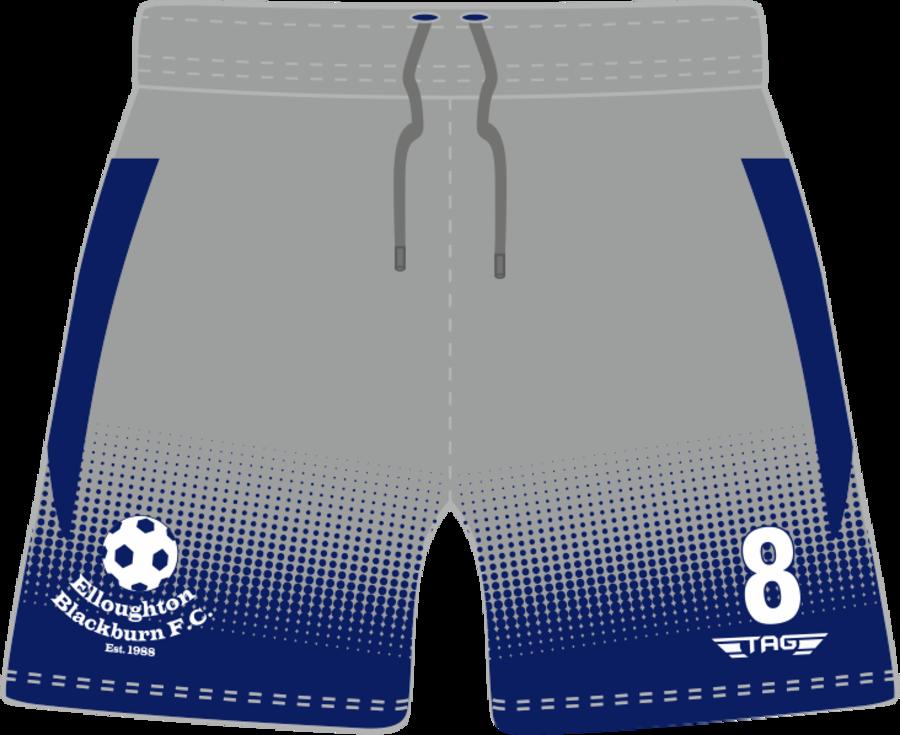 C3G. Elloughton Blackburn FC - Away Match Short - Child