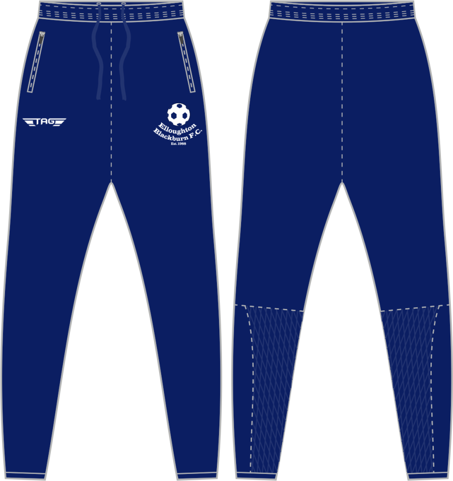 D2D. Elloughton Blackburn FC- Tech Trouser - Adult