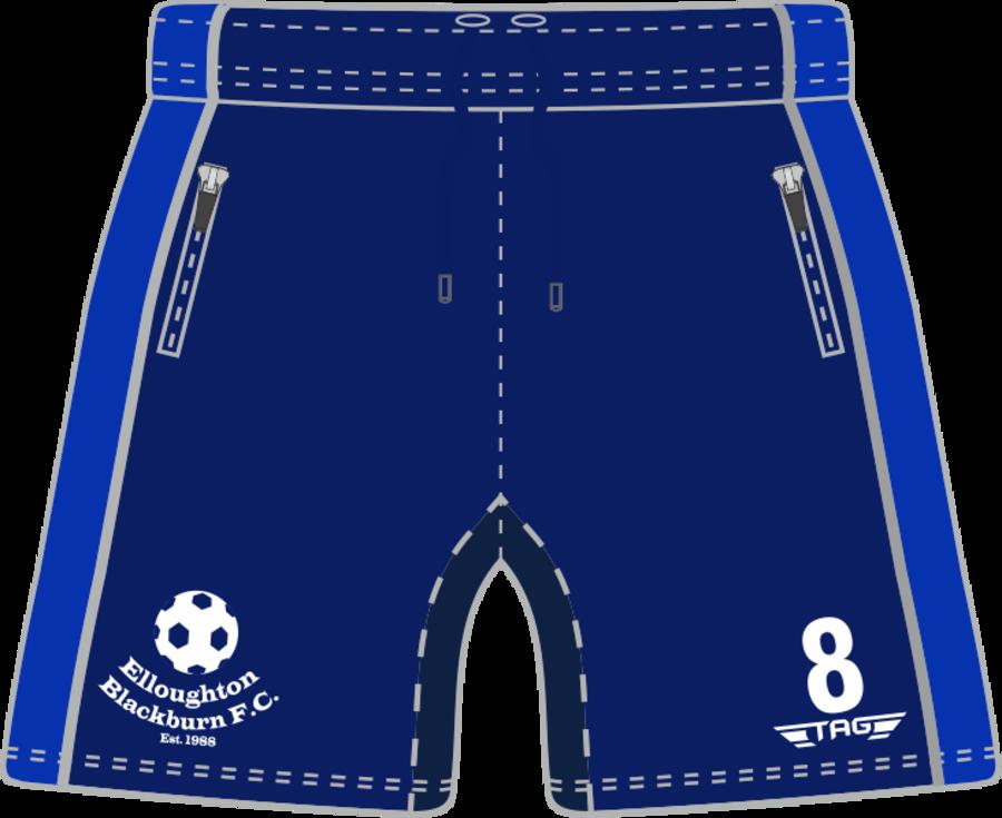 D8T. Elloughton Blackburn FC - Coaches Short - Adult