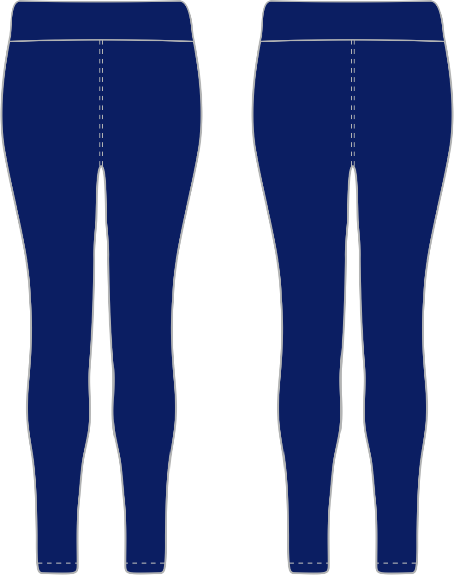 D8D. Elloughton Blackburn FC - Baselayer Leggings - Adult