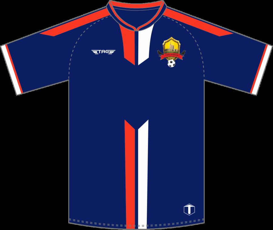 C2D. Bolsover Town FC - Away Match Jersey S/S - Adult