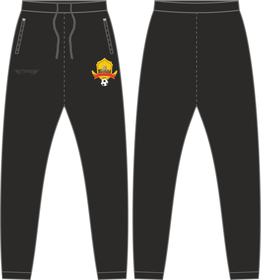 D2C. Bolsover Town FC - Black Casual Trouser - Child