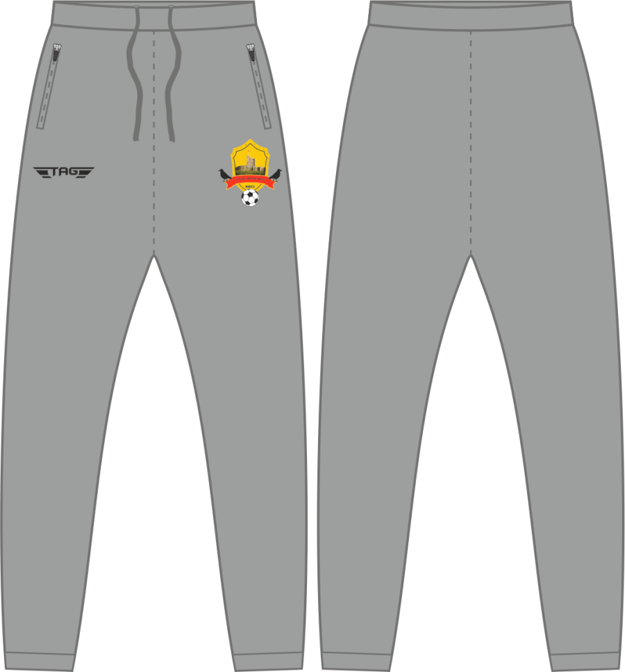 D2E. Bolsover Town FC - Grey Casual Trouser - Child