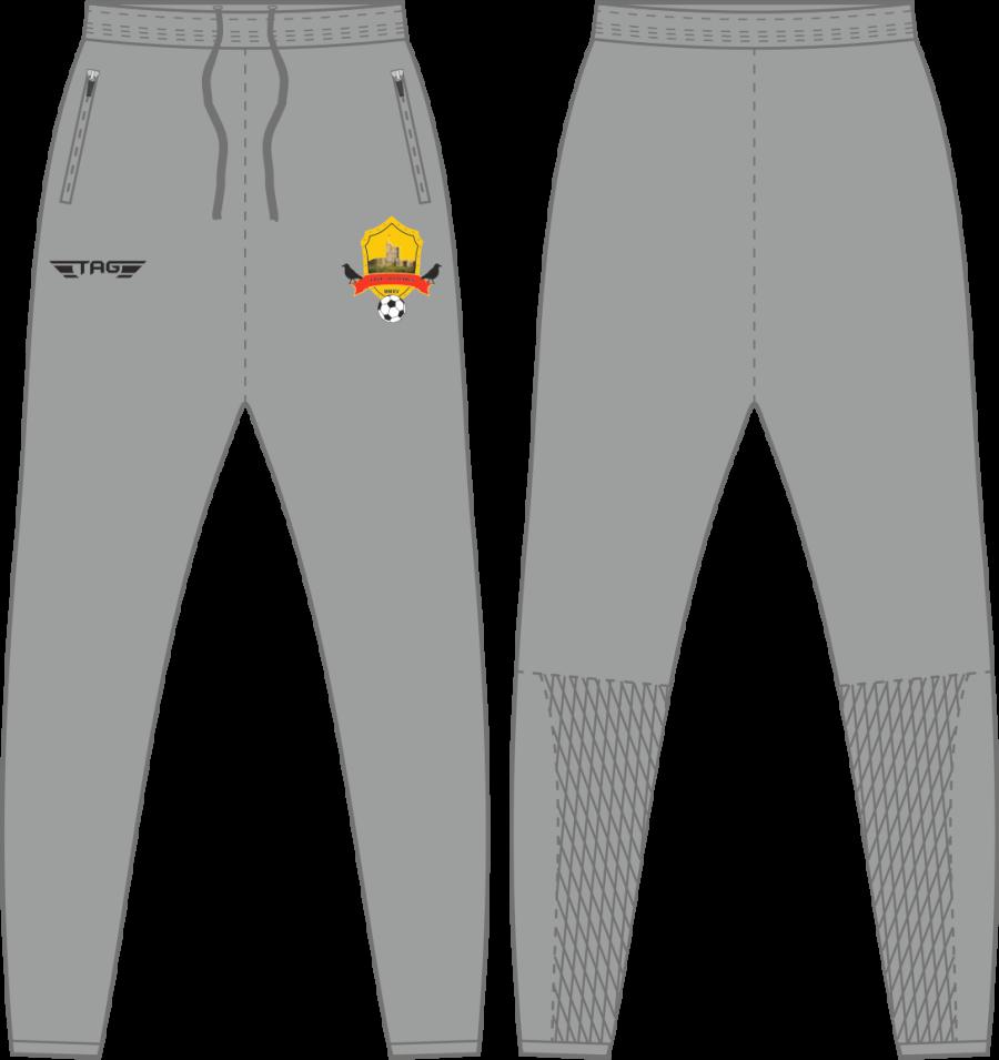 D2J. Bolsover Town FC - Grey Tech Trouser - Adult