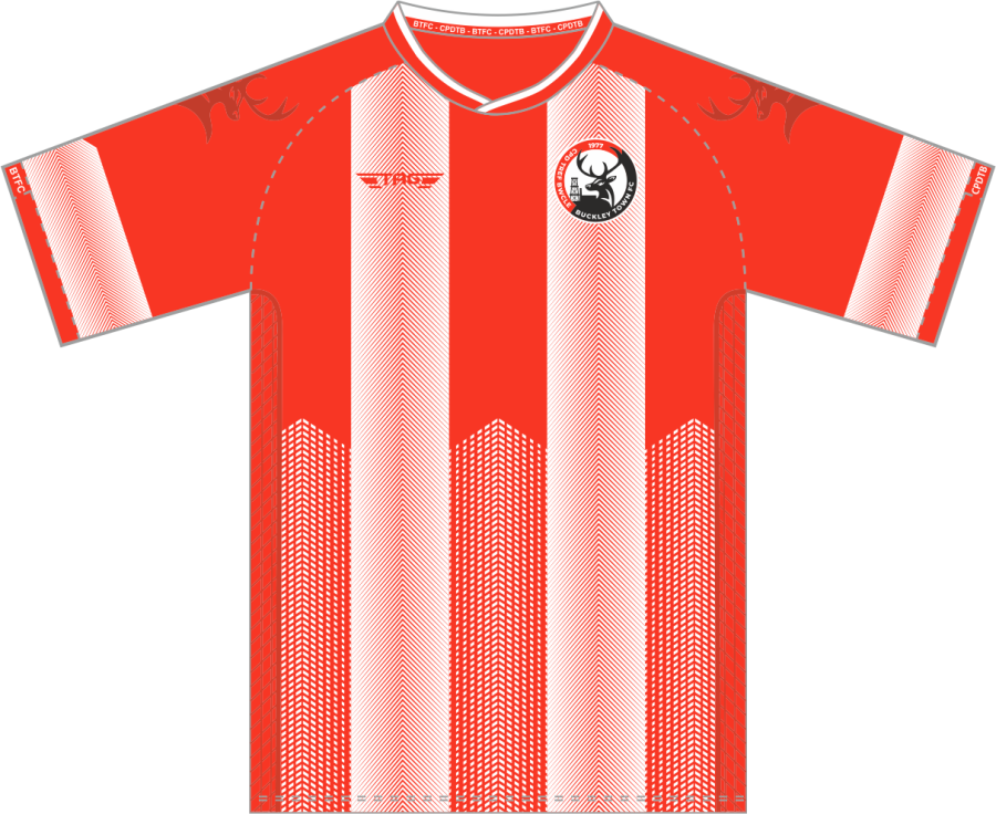 C2A. Buckley Town FC - Home Match Jersey S/S - Child