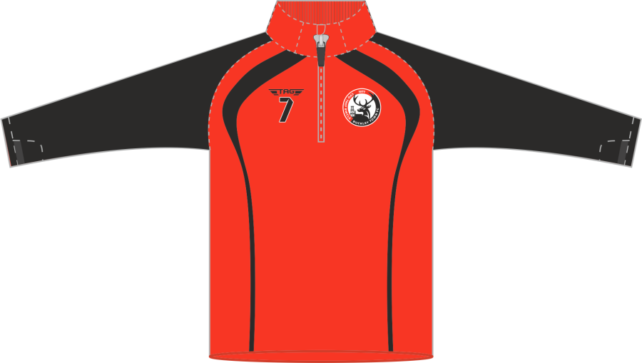 D6H. Buckley Town FC - QZ Midlayer - Adult