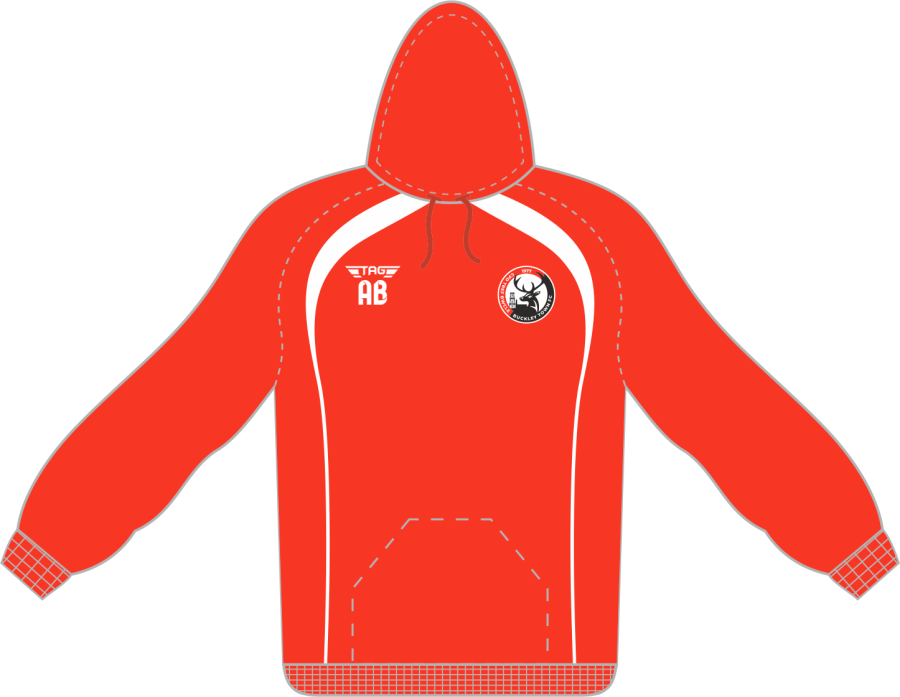 D7C. Buckley Town FC - Sports Hoody - Child