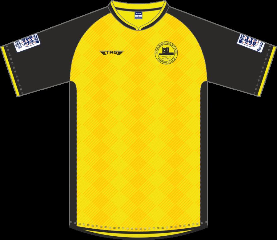 C2D. Marlborough FC - Home Jersey S/S - Adult