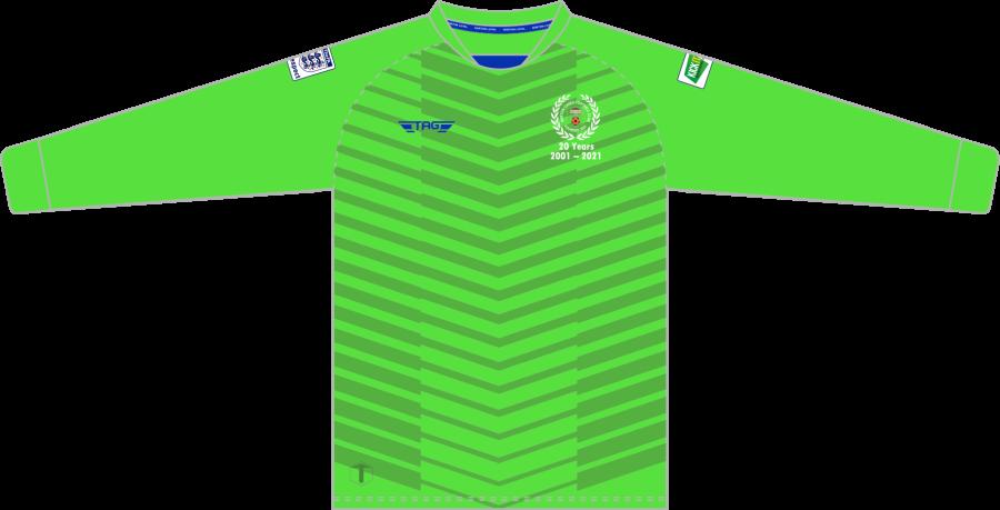 C4F. Norton Canes FC - Bright Green GK Jersey - Adult