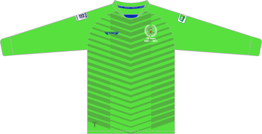 C4E. Norton Canes FC - Bright Green GK Jersey - Child