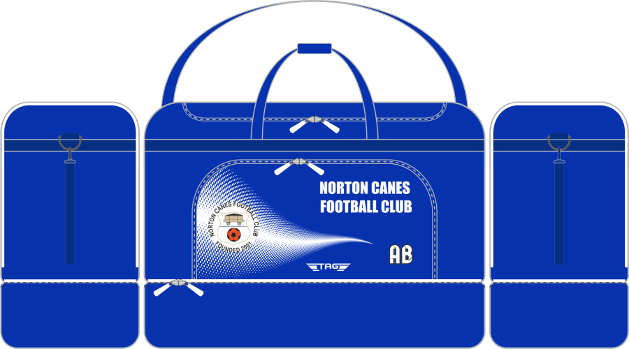 E2E. Norton Canes FC - Players Kit Bag (min order of 10)**