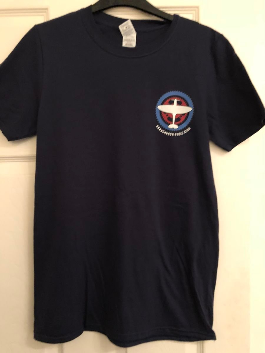 HCC T-Shirt NAVY  (soft touch)