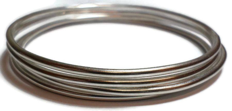 4 pack of Sterling Silver Bangles