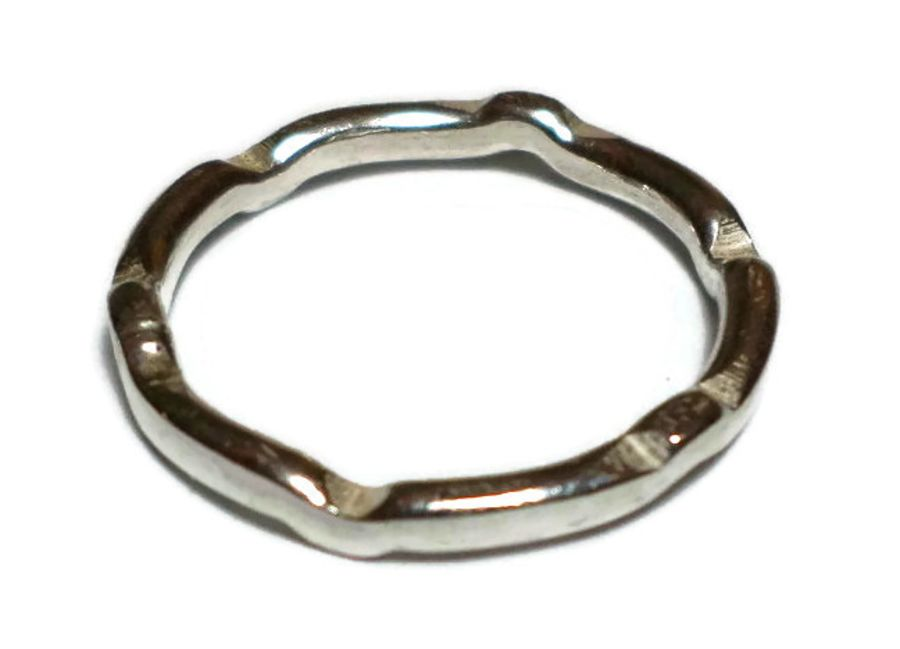 Sterling Silver shaped ring