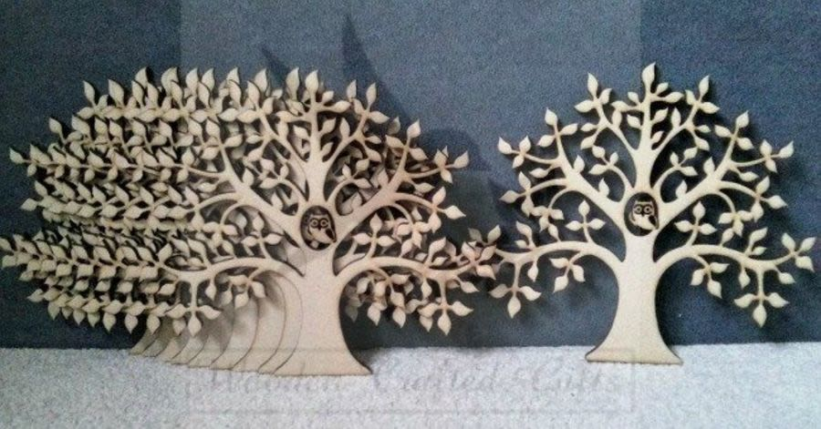 Flat Trees for Ribba Frames (15cm)