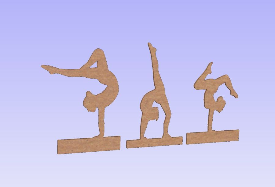 Freestanding Gymnastic Figures