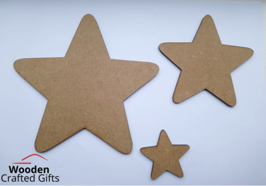 Stars 3mm - Sold individually or Packs