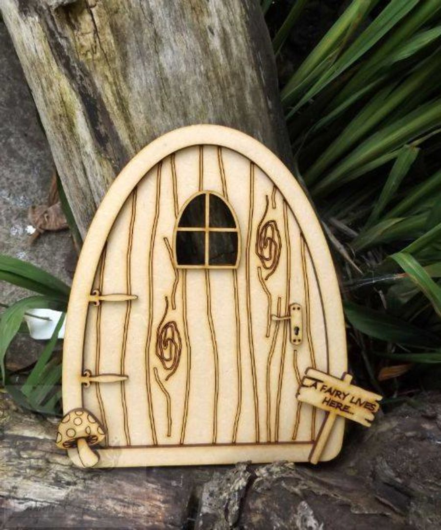 Fairy Door With Accessories