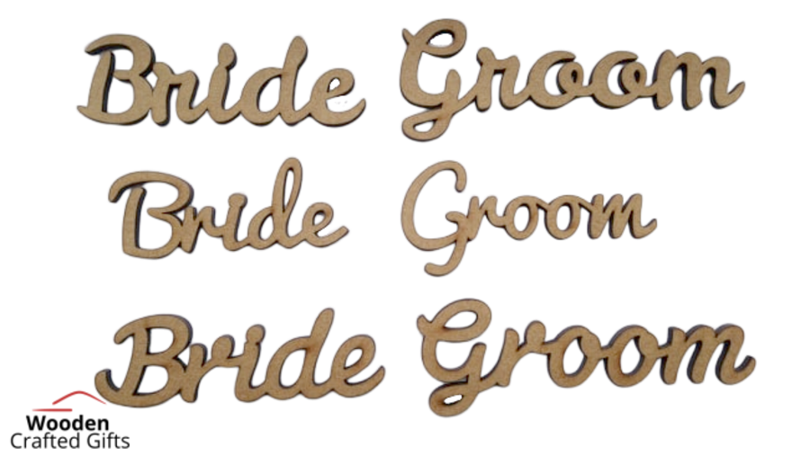 5cm Tall Wedding Place Names/Wedding Favours