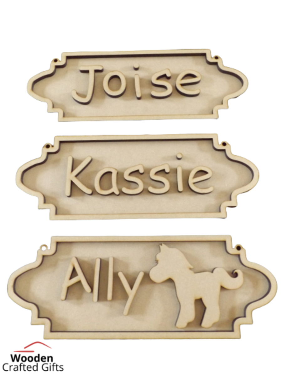 Street Sign Hanging Plaque (6mm thick)