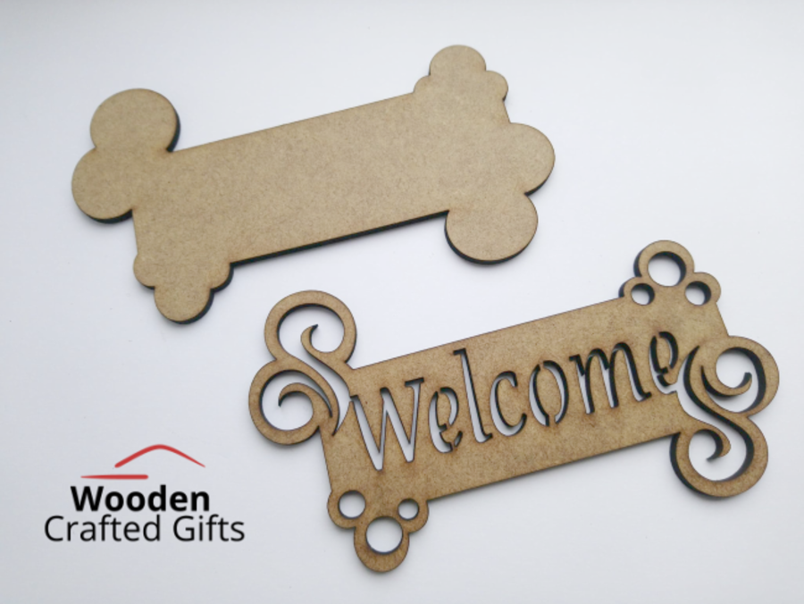 Hanging 2 Part Welcome Sign