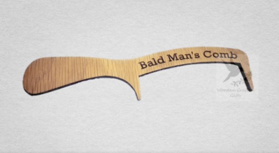 Oak Veneer - Bald Man's Comb