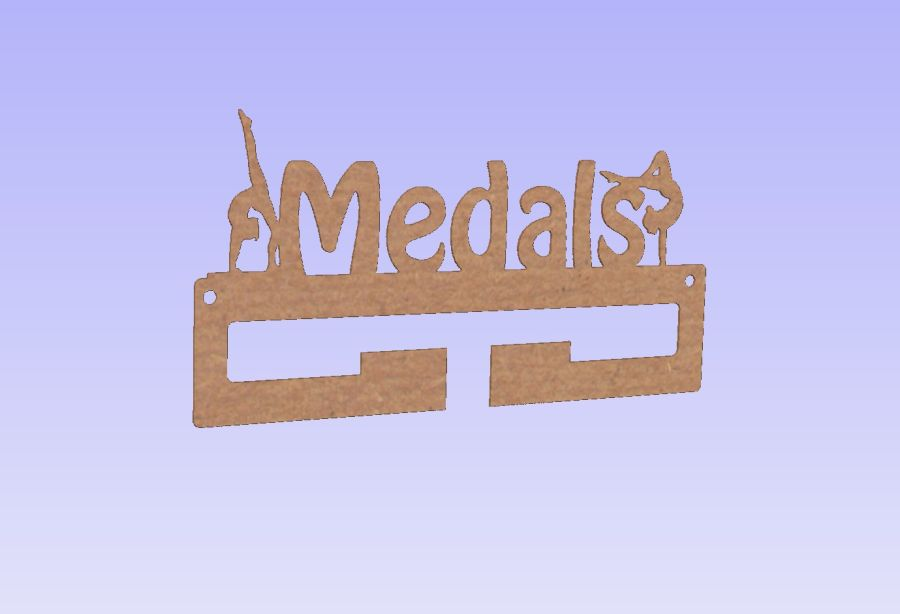 Medal Holders With or Without Shapes