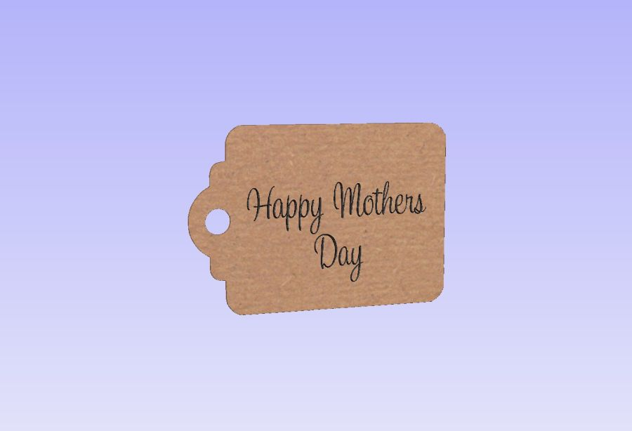 Tags Engraved - Happy Mothers Day
