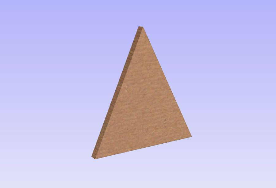 Freestanding Triangles